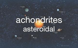 achondrites : HED - angrites - aubrites - brachinites - ungrouped